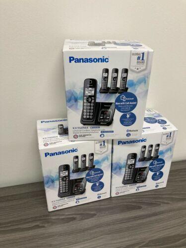 Panasonic KX-TGD564M Link2Cell DECT 6.0 Expandable Digital System-Black
