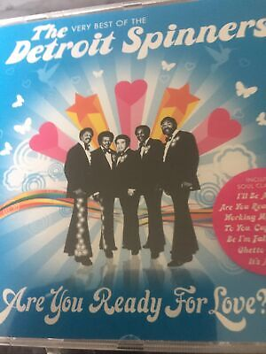Motown The Spinners - Are You Ready For Love (The Very Best Of The Detroit Spin