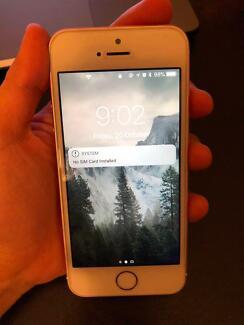 iPhone SE 64GB Rose Gold MINT