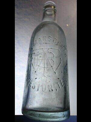 RARE Vintage CHARLES F. MARSCHNER Bottle Related to DR PEPPER Bottling Co.1890's