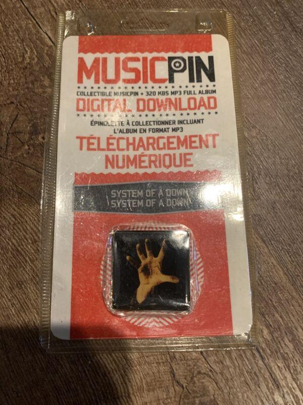 System Of A Down Super Rare MUSICPIN collectible New RARE