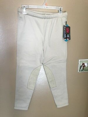 NWT Devon-Aire Classic Kids Power Fleece Tight Breeches #327 Riding Pants Devon Aire Childs Breech