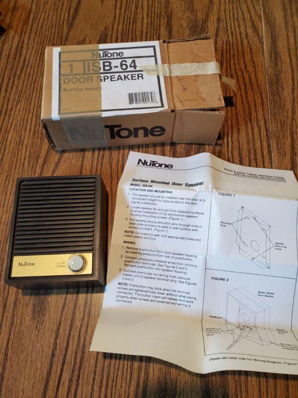 Nutone ISB-64 Speaker