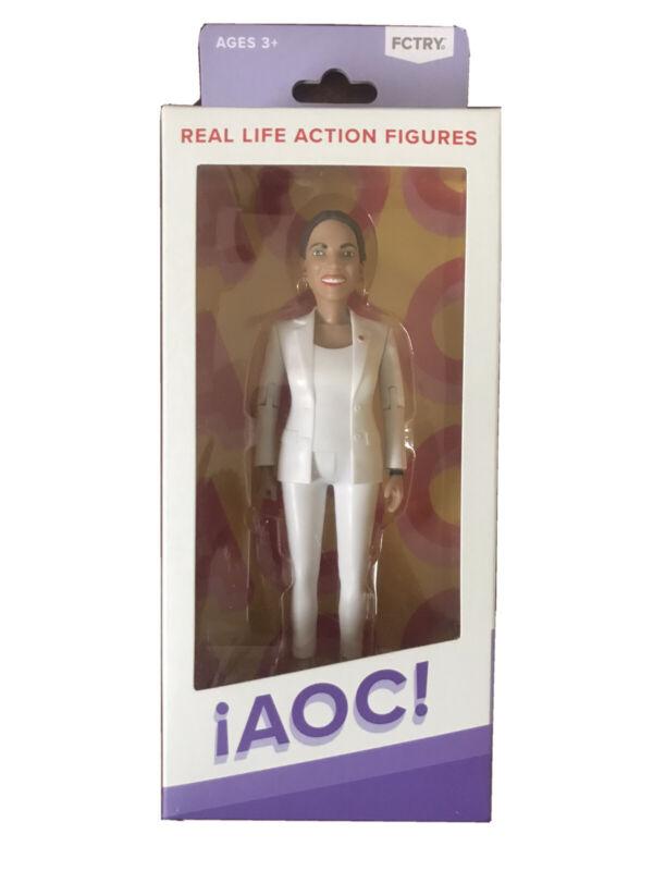 AOC Alexandria Ocasio-Cortez FCTRY Action Figure Collectible Democrat DSA