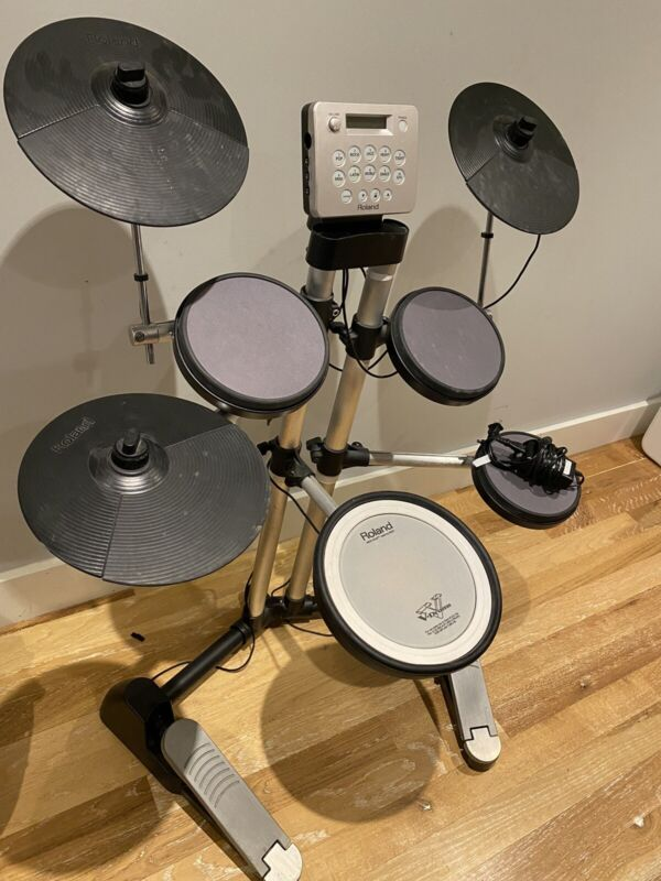 Roland V Drums Lite HD-3 Electronic Drum Kit Set Free Shipping.