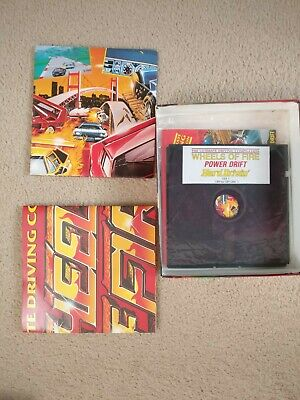 Wheels Of Fire Commodore 64 Driving Games Compilation CBM 64/128K disk