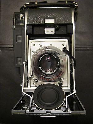 Polaroid 110A, Pathfinder Land Camera, Rodenstock f4.7/127mm, w/case/accessories