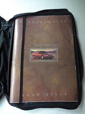 Rand McNally US Road Atlas  in Buick Century vinyl zippered case