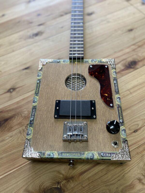 Premium Cigar Box Guitar By Birdwood Guitars - Made To Order