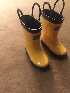 Baby Children's Rain Rubber Boots Never Used New