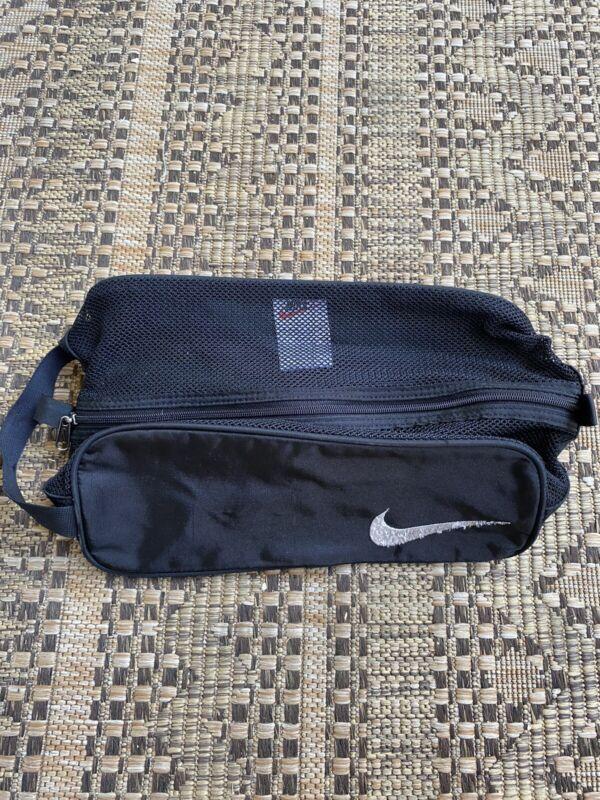Nike Golf Shoe Tote - Fleece Lined Bag - Black