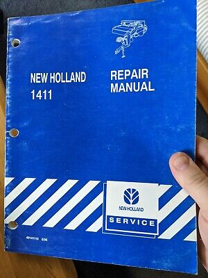 New Holland 1411 Disc Mower-conditioner Service Repair Manual