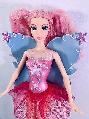 Barbie Fairytopia Fairy Pink Hair Doll Toys R Us Exclusive 2007 RARE