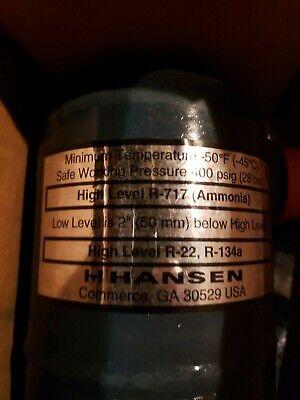 Hansen Refrigerant Float High Level R-717 Ammonia