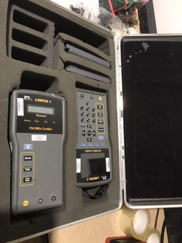 Lantek 7 Cable Certifier Kit