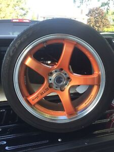 Rims and tires for sale 235/45/R18
