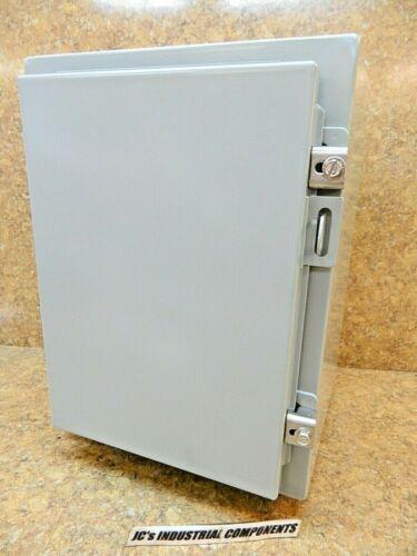 "Hammond   1418b10   16"" X 12"" X 10""  Nema Type 12 Enclosure  With Panel"
