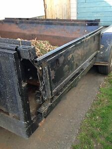 landscape trailer with side dump