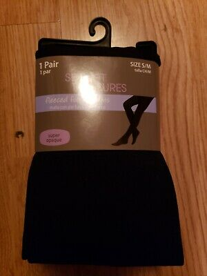 2 sets fleeced footed and footless tights by secret treasure