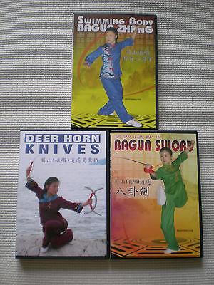 Emei Bagua Ba Gua Zhang  Helen Liang Tai Chi Chuan Xing Yi Kung Fu 3 DVD Set