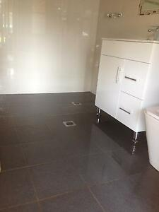 Charcoal ceramic floor tiles Long Jetty Wyong Area Preview