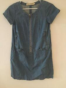 French connection denim dress size 8 Edgecliff Eastern Suburbs Preview