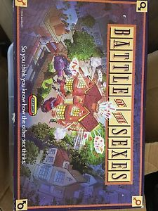 Board game- battle of the sexes Merewether Heights Newcastle Area Preview