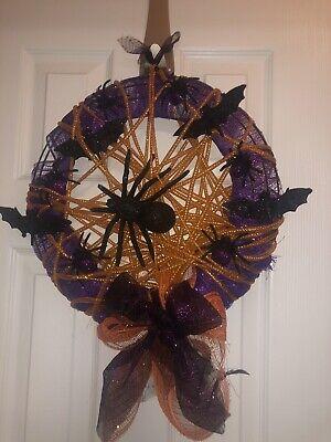 halloween door wreath
