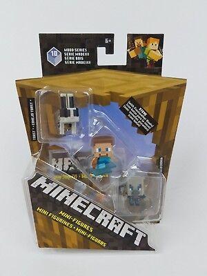 Minecraft Minifigure Wood Series 10 Toast Steve Vindicator ](Minecraft Steve)