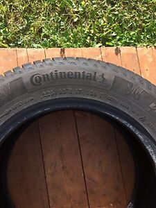 4 Continental Winter Contact SI Tires St. John's Newfoundland image 1