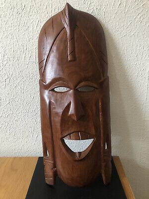 Carved Wood African? Mask - H48cm