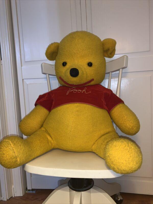 Vintage Winnie The Pooh Large Plush 1960s J Swedlin Disney