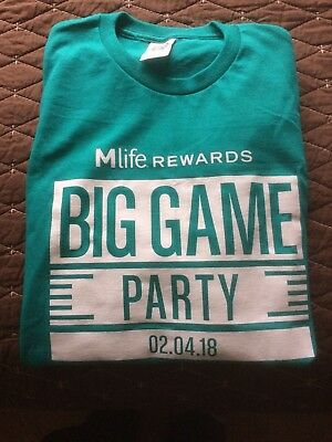 Mirage Las Vegas Superbowl Party Tee 2018 (Superbowl Parties)