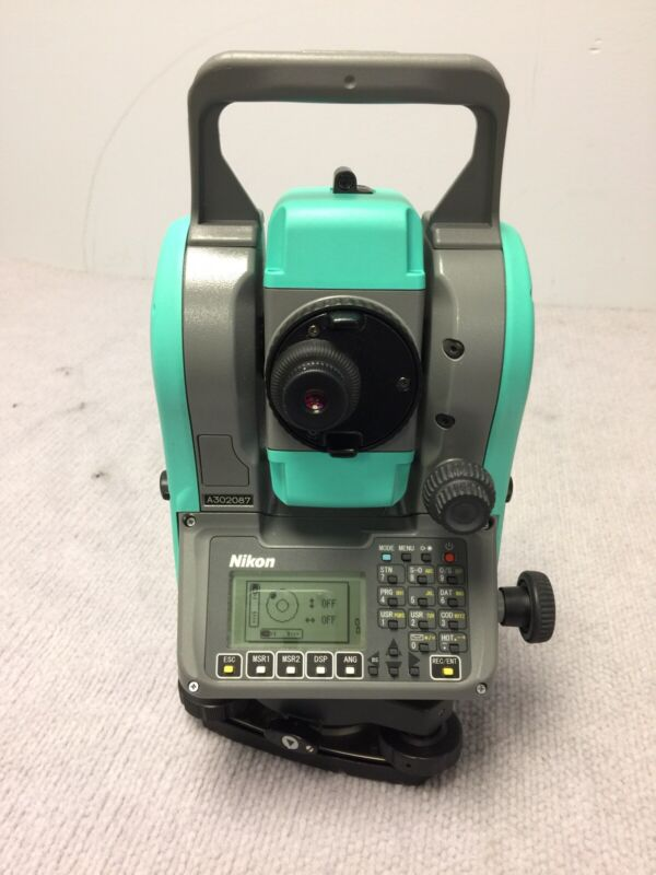 """Nikon Nivo 5.m 5"""" Dual Face Total Station Prism & Reflectorless 5M Tested Workin"""