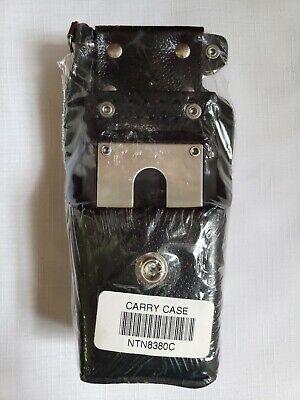 Newsealed Motorola Carry Case Ntn8380c High-activity Leather Holster Radio