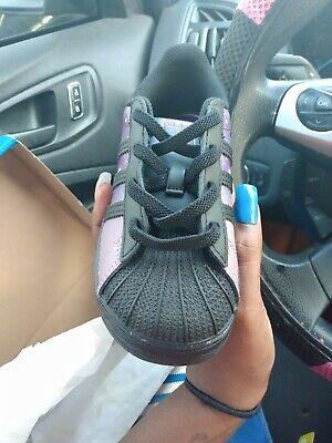Girls adidas shoes Size 9
