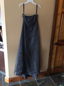 Alfred Angelo strapless dress sz 14