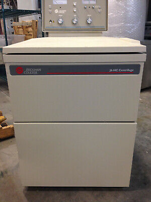 Beckman Coulter J6-hc Centrifuge With Js 4.2 Rotor