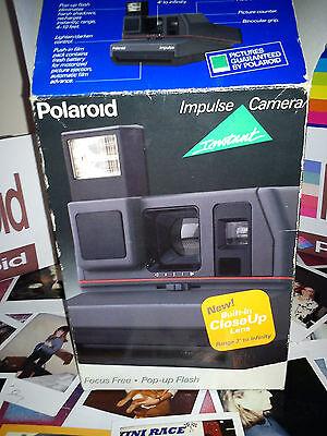 BOXE  N E W POLAROID INSTANT CAMERA  Polaroid Impulse Portrait Camera + film
