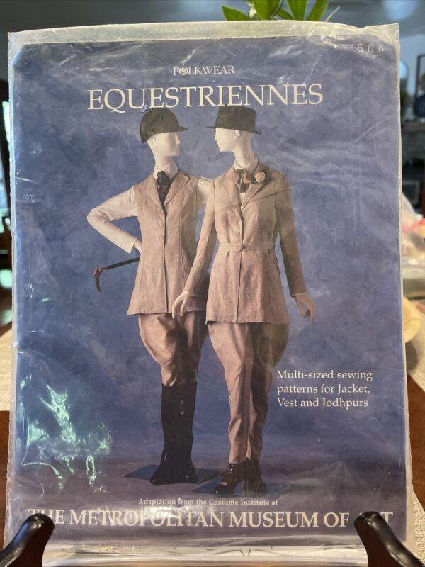 Vintage Folkwear Pattern 506 Equestriennes jacket jodhpurs