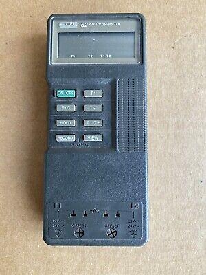 Fluke 52 Kj Digital Thermometer - Main Unit Only