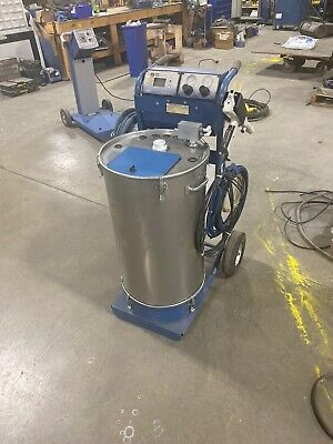 Nordson Sure Coat Manual Powder Coating System W 50lb Hopper - Refurbished