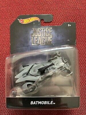 MATTEL 2017 HOT WHEELS BATMAN  1:50  JUSTICE LEAGUE  BATMOBILE