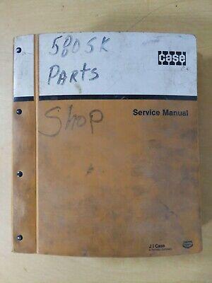 Case 580 Super K Construction King Loader Backhoe Parts Catalog
