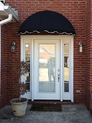 EasyAwn Dome Sunbrella Window/Door Awning Canopy 7 Yr Warranty Free Shipping