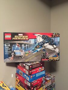 Lego super heroes sets complete with boxes and books