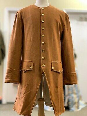 Butternut Tan Frock Coat - Man's 42