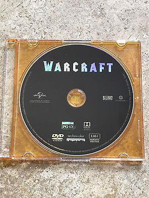 Warcraft Movie 2016 Dvd Only Brand New