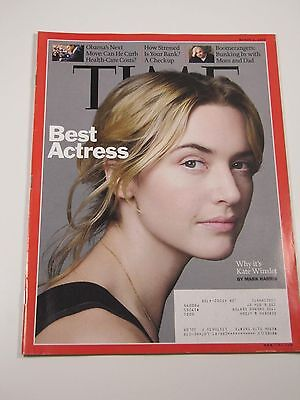 Time Magazine- Best Actress: Kate Winslet- March 2,