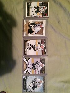 five Sidney Crosby. rookie cards